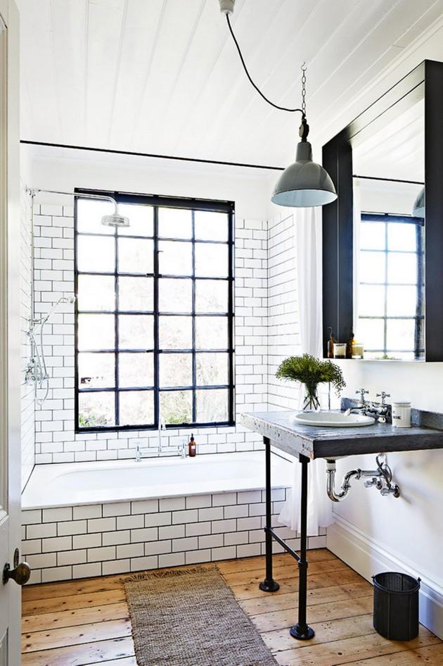 membuat kamar mandi sempit menjadi terlihat lebih luas